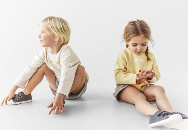 kids woven mobiente